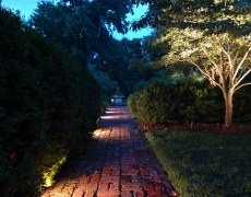 Walkway Lighting Half Dark