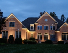 Architectural Accent Lighting Brick