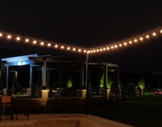 Pergola and Cafe Lighting