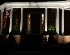 Porch Column Lighting