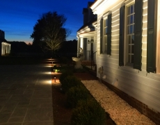 WS6 Burlington Plantation Patio Path Lights
