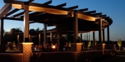 Green Flash Left Back Pergola