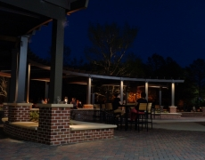 Green Flash Pergola Right Front with People