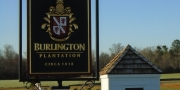 WS1 Burlington Plantation Sign