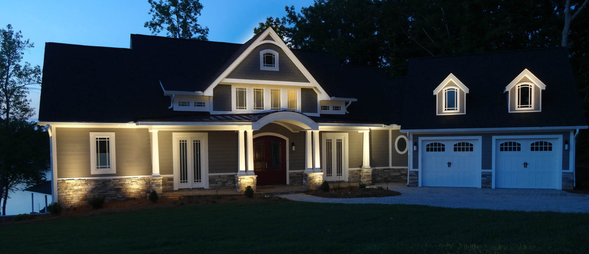 House accent lighting lighting ideas Exterior accent lighting for home